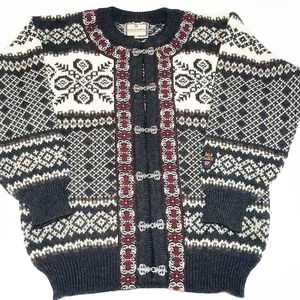 Dale of Norway Wool Cardigan Sweater, Size S